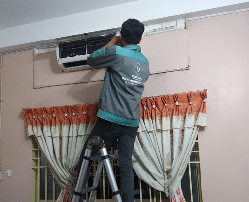 dịch vụ vệ sinh máy lạnh quận Tân Bình uy tín tại nhà.
