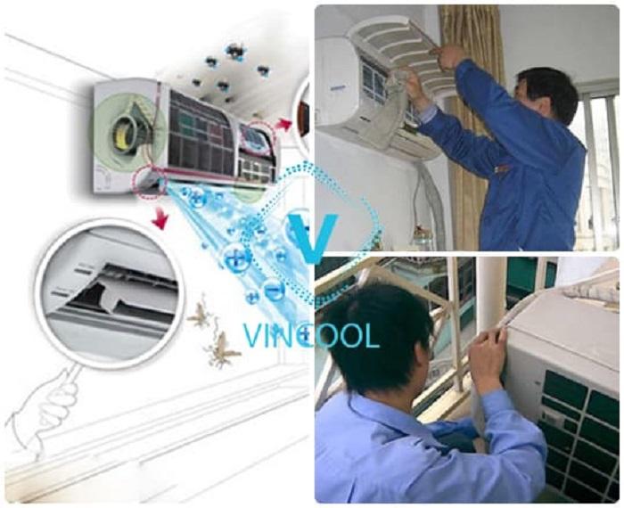 vệ sinh máy lạnh quận Tân Phú ở đâu uy tín, chất lượng