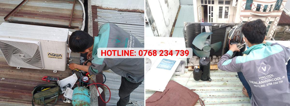 Dịch vụ sửa máy lạnh tại nhà chuyên nghiệp chỉ trong 30 phút