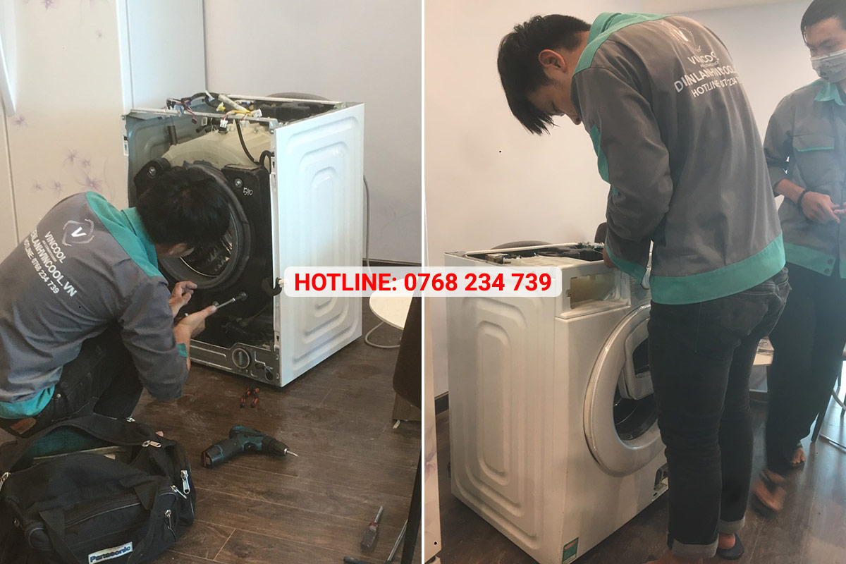 Quy trình vệ sinh máy giặt chuyên nghiệp chỉ có tại Vincool