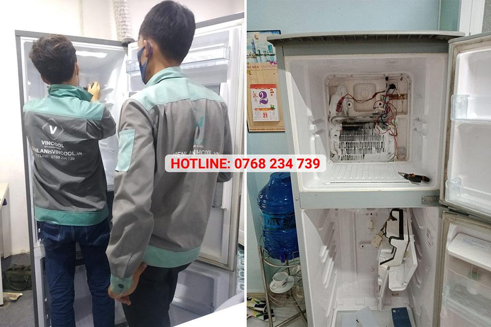 VinCool - trung tâm sửa tủ lạnh uy tín tại TPHCM