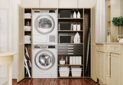 Bí quyết chọn vị trí đặt máy giặt đảm bảo an toàn & tiện lợi