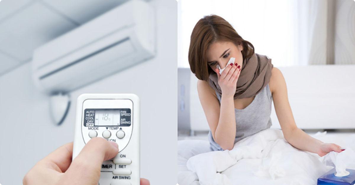 Vệ sinh máy lạnh định kỳ có thể loại bỏ những tác nhân gây bệnh về hô hấp.